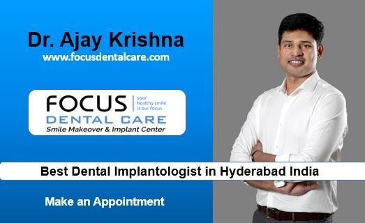 Best Prosthodontist In Hyderabad India Dr Ajay Krishna